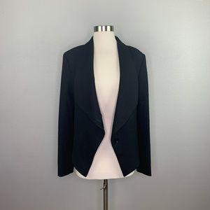 BCBGMaxazria | Asymmetrical Open Blazer Black sz S
